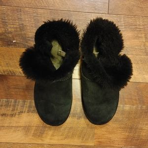 Ugg Fur Ankle Boots